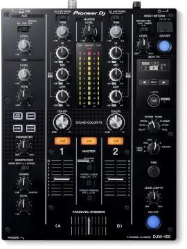 Mesa de mistura PIONEER DJ DJM-450