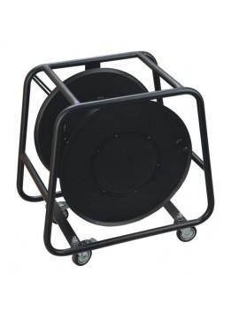 Enrolador PROEL Metálico c/ rodas p/ Multipares