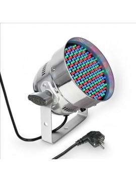 Projector LED PAR56 RGB 151x5mm Polished