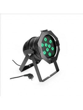 Projector LED PAR56 RGB 9x3w Black