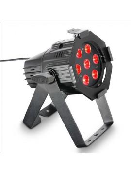 Projector LED PAR Mini RGBW 7x8w Black