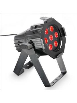 Projector LED PAR Mini RGB 7x3w Black