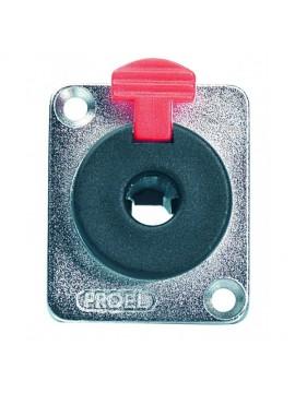 Jack Stereo PROEL Femea de Painel c/ Locking 6.3mm