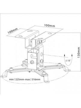 Suporte de projector PROEL curto de teto